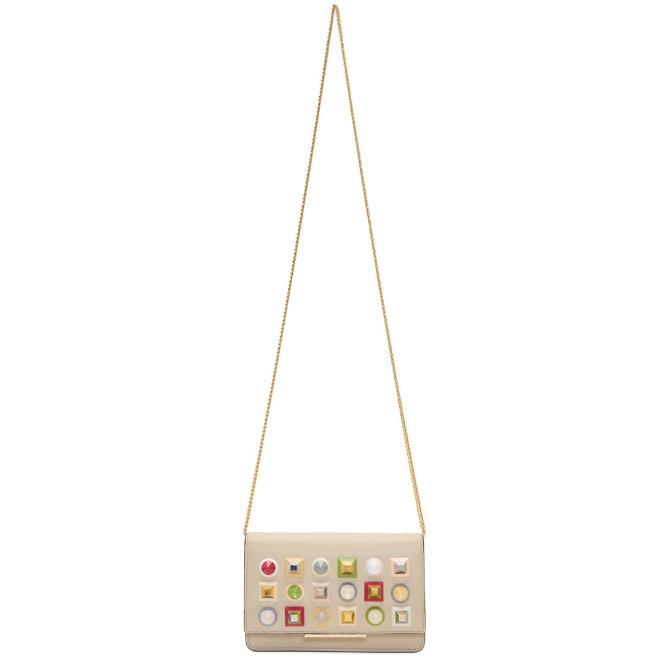 Fendi Rainbow迷你彩虹链条包 5.9折 879加元,原价 1490加元,包邮