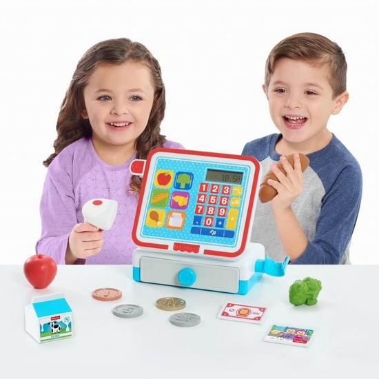 历史新低!Fisher Price 费雪 93515 玩具收银机2.0折 10.9加元清仓!