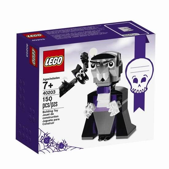 白菜价!历史新低!LEGO 乐高 创意系列 40203 万圣节 吸血鬼和他的小蝙蝠(150pcs)3.8折 4.5加元清仓!