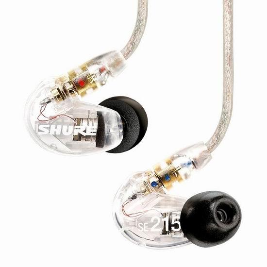 Shure 舒尔 SE535-CL 旗舰级 隔音耳机6.2折 432.71加元包邮!