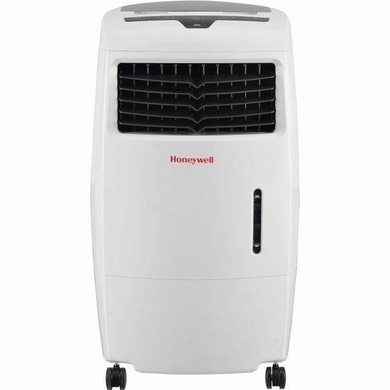 超级白菜!历史新低!Honeywell CL25AE 52品脱 移动式空气水冷机1.4折 80.06加元包邮!
