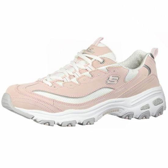 Skechers 斯凯奇 D'Lites 女式粉红运动鞋(7码)4.4折 39.49加元包邮!