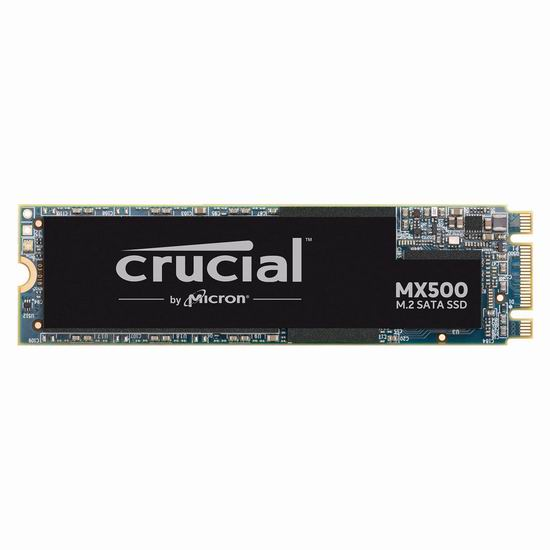 历史新低!Crucial 镁光 MX500 3D NAND SATA M.2 500GB 卡式固态硬盘4.8折 79.99加元包邮!