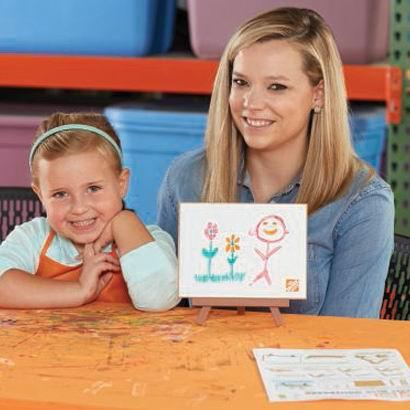 Home Depot 1-3月份免费儿童手工课,及家庭装修免费课程安排一览!
