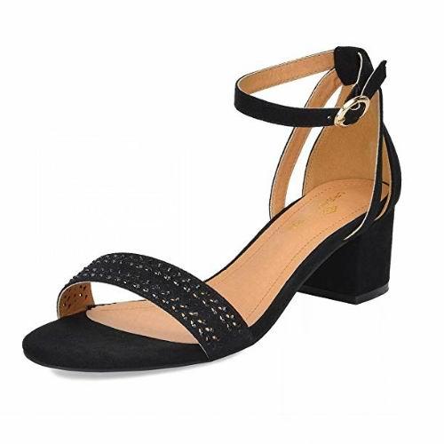 白菜价!历史新低!DREAM PAIRS Mona 女式时尚高跟凉鞋3折 10.99加元清仓!10款可选!