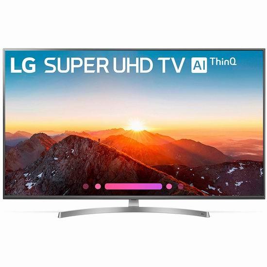 历史新低!LG 65SK8000 65英寸 4K超高清智能电视 1397.99加元包邮!