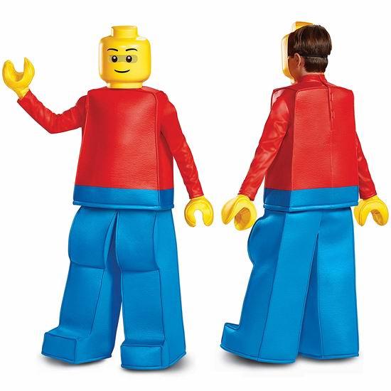 白菜价!Disguise Lego Guy Prestige 乐高 积木人 万圣节服装(7-8岁)1.1折 9.96加元清仓!