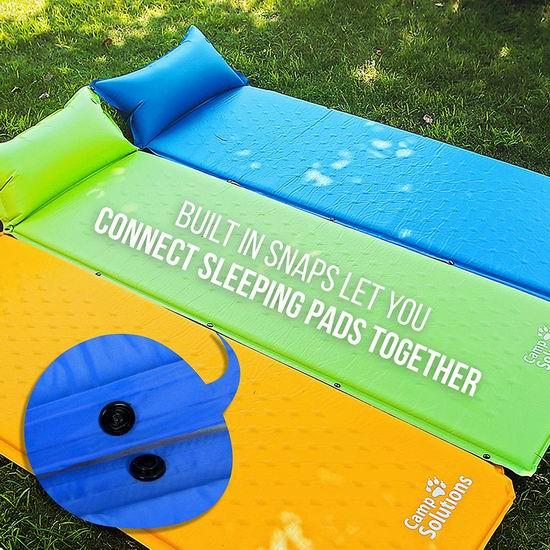 销量冠军!Camp Solutions 超轻 自充气睡垫4折 17.84加元!