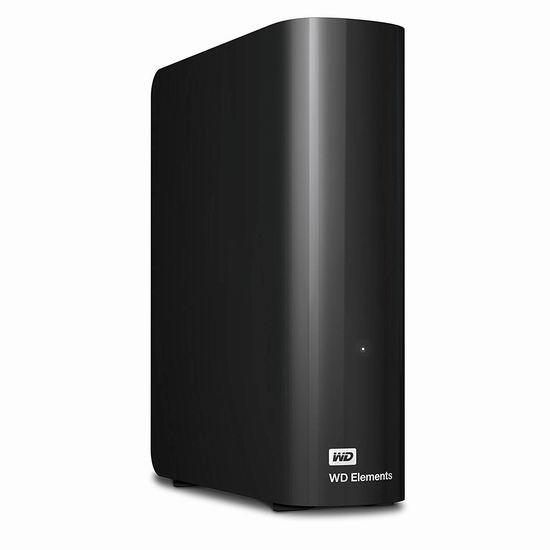 Western Digital 西数 Elements 新元素系列 3.5英寸 8TB 台式移动硬盘 189.99加元包邮!