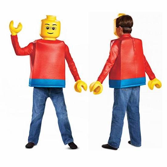 白菜价!Disguise Lego Iconic 乐高 积木人 万圣节儿童服装1.3折 7.53加元清仓!