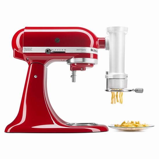历史最低价!KitchenAid KSMPEXTA 厨师机意粉压制/压面器配件6.1折 169.98加元包邮!