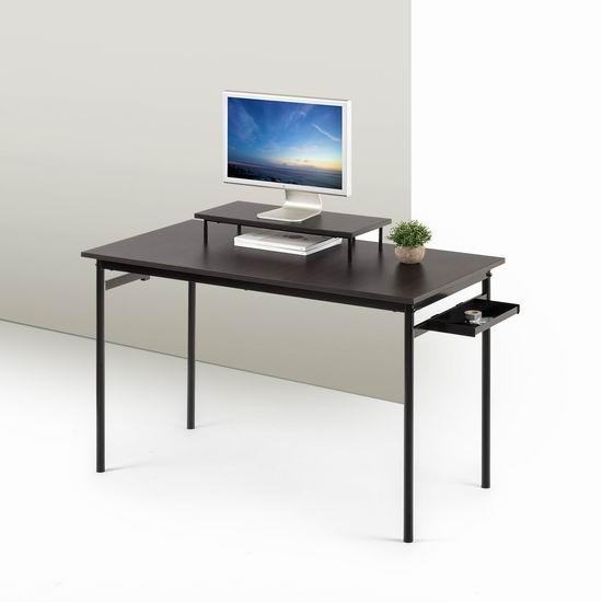 白菜价!历史新低!Zinus OLB-DS-PS47 Port 时尚电脑桌1.7折 60.09加元包邮!