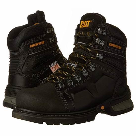 白菜价!历史新低!CAT Footwear Endure CSA 真皮男靴(5.5码)2.3折 52.92加元包邮!