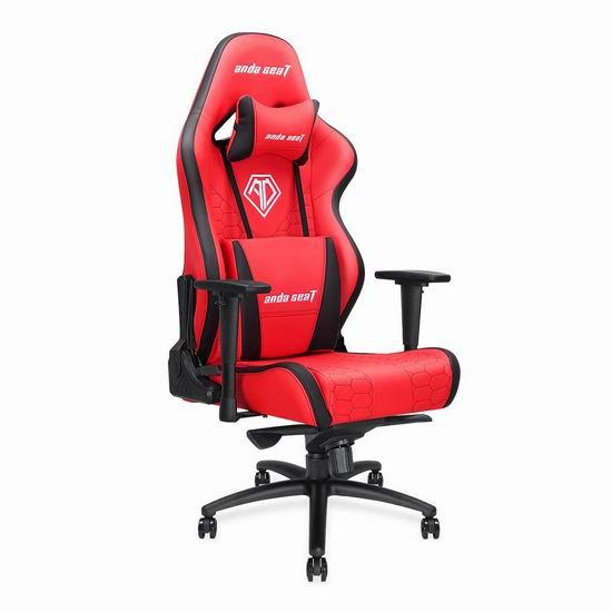 Anda Seat Assassin King 超大号 人体工学 高靠背赛车办公椅/游戏椅 254.99加元限量特卖并包邮!4色可选!送腰枕!