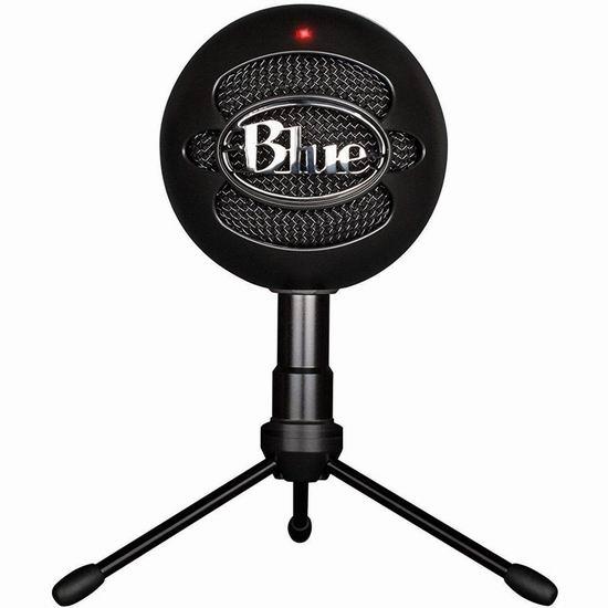 历史新低!Blue Microphones 雪球专业级USB麦克风5.7折 39.88加元包邮!
