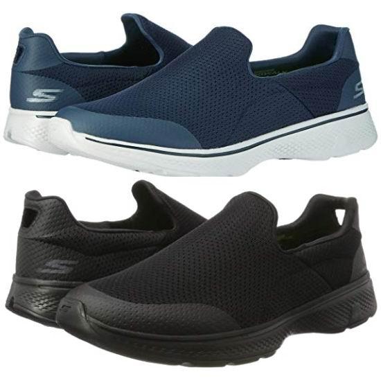 Skechers 斯凯奇 GO Walk 4 男式一脚蹬休闲鞋5折 44.99加元包邮!2色可选!码齐全降价!