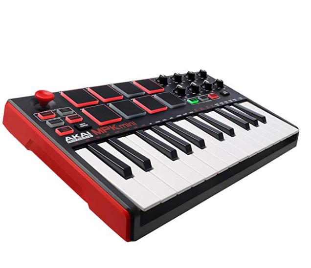 AKAI MPK 迷你 MK2 25键 MIDI控制器/MIDI键盘 打击垫 129加元热卖+包邮!