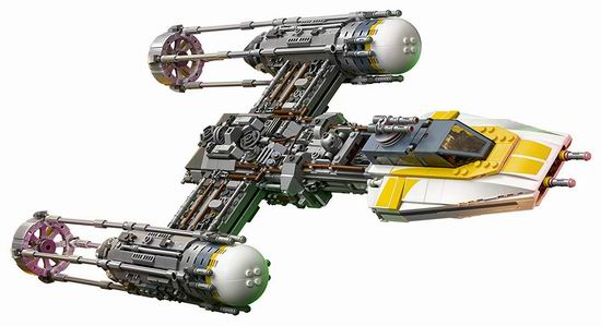 Lego 乐高 75181 UCS 终极收藏家系列 星球大战 Y翼战机(1967pcs)8折 199.97加元包邮!