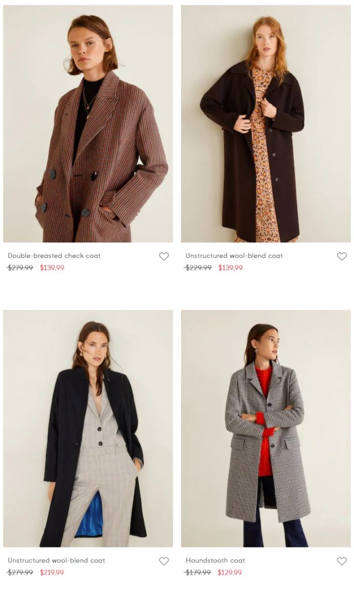 Mango 精选成人儿童外套、毛衣、上衣、裤装 3折起优惠!