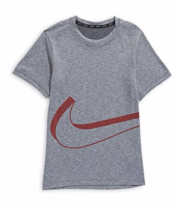 Nike 耐克 男童Logo 短袖Tee 11.81加元,原价 35加元
