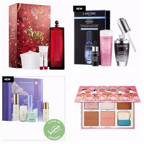 手慢无!Sephora 精选大牌新年限量版护肤品、口红、美妆 、超值套装上市!