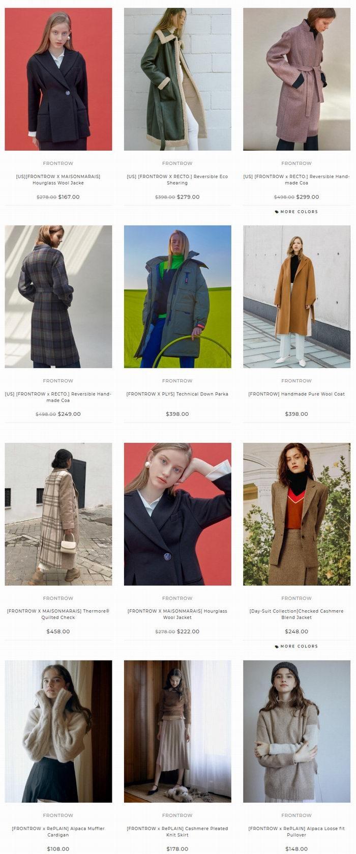 W Concept 超人气品牌 3.7折起+额外8.5折优惠!最受韩国明星喜爱的网络购物平台!