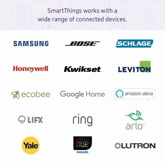 历史新低!Samsung 三星 Smartthings Hub V3 第三代智能家居中控平台 64.98加元包邮!另有多款配件促销!比Prime Day还便宜4加元!