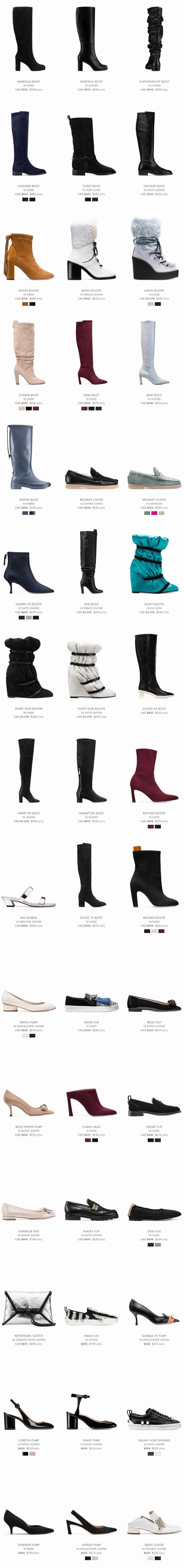 Stuart Weitzman 官网精选时尚美腿长靴、凉靴3折起+额外最高7折+包邮!