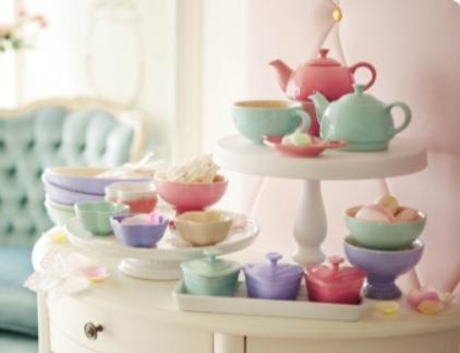 厨房中的爱马仕!精选 LE CREUSET 水壶、水杯、碗、盘子 7.5折 15加元起!入粉色系列!