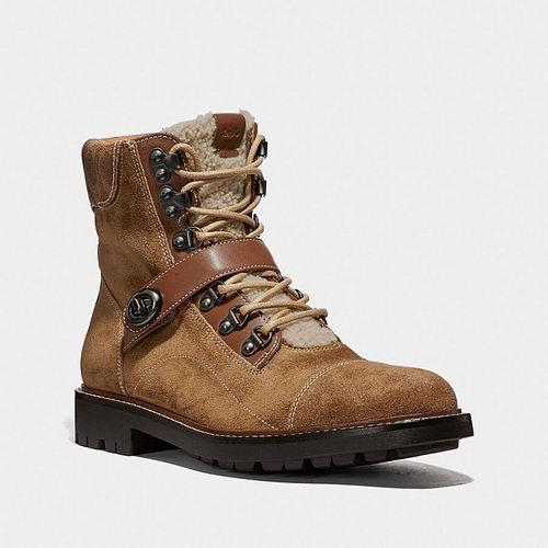 Coach Hiker 男士登山靴 247.5加元,原价 495加元,包邮