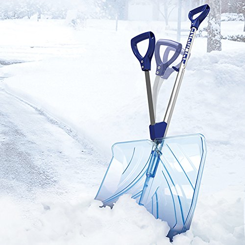 Snow Joe SJ-SHLV02 18 英寸防刮透明塑料雪铲4.6折 19.04加元!