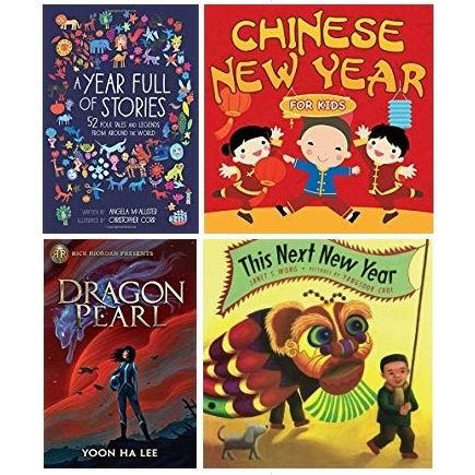 精选5款中国农历新年儿童图书6.9折起!