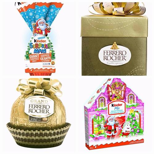 精选4款 Kinder、Ferrero等品牌巧克力 4.5折 4.99加元起特卖!