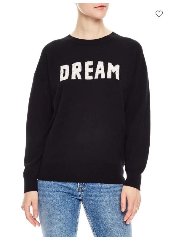 Sandro Cashmere黑色毛衣 127.5加元,原价 425加元,包邮
