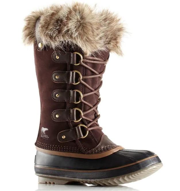Sorel 人造毛边防水雪地靴 144加元,原价 240加元,包邮