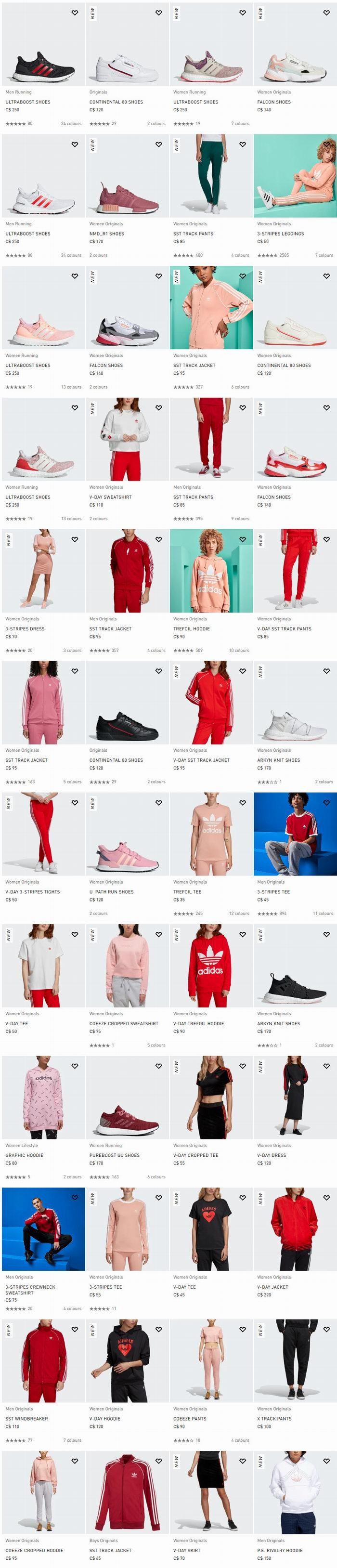 为你见证爱的每一步,Adidas 2019情人节特别款 9折优惠!