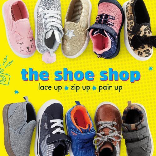 Carter's 全场儿童运动鞋 6折优惠!入超萌猫咪鞋!