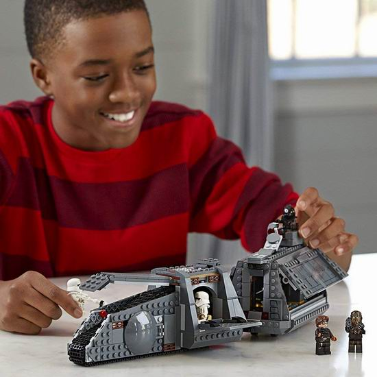 历史新低!LEGO 乐高 75217 星球大战系列 汉·索罗勇闯帝国列车(622pcs)5.4折 59加元包邮!