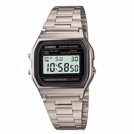 Casio 卡西欧 A158W-1 经典复古 军用小银表/电子表5.2折 15.74加元!