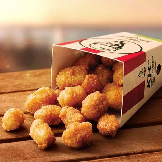 KFC 肯德基 劲爆鸡米花(20pcs)仅需2元!仅限今日11am-4pm!