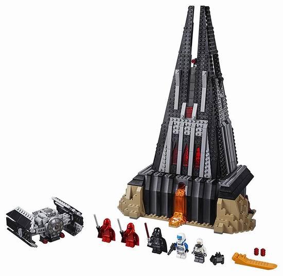 历史新低!LEGO 乐高 75251 星球大战系列 达斯-维达的城堡(1060pcs)4.5折 66.99加元包邮!会员专享!