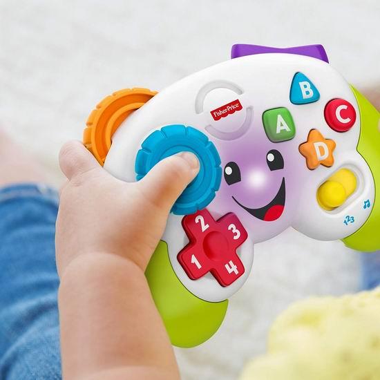 历史新低!Fisher-Price 费雪 Laugh & Learn 婴幼儿益智游戏手柄4.4折 12.94加元!
