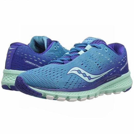 白菜价!Saucony 索康尼 Breakthru 3 女式跑步鞋(7码)2.6折 33.6加元清仓!