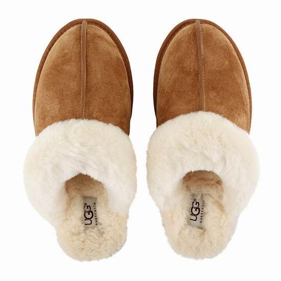 UGG Scuffette II Scuff 女士羊毛拖鞋 78.75加元包邮!