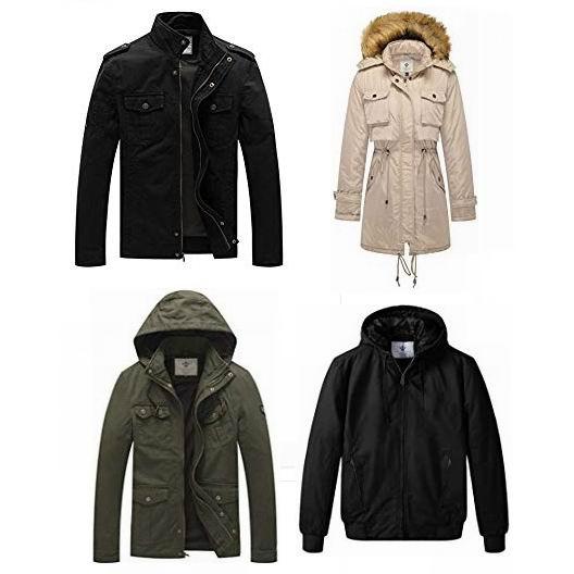 金盒头条:精选17款 WenVen 男女时尚防寒服、夹克等7.5折!售价低至40.38加元!