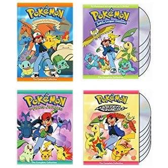 金盒头条:历史新低!精选5款 Pokemon 神奇宝贝/口袋妖怪 影视剧合集3.8折起!售价低至11.5加元!