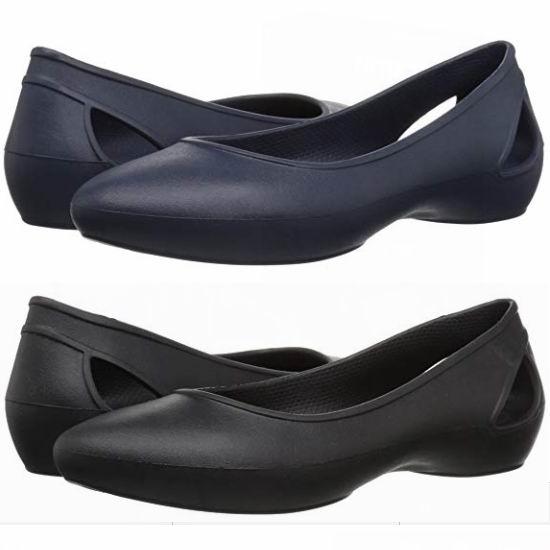 历史新低!Crocs Laura Ballet 女式平底休闲鞋/凉鞋3.5折 15.99加元清仓!2色可选!
