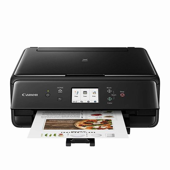 Canon 佳能 PIXMA TS6220 无线多功能一体彩色喷墨打印机4.4折 79.99加元包邮!