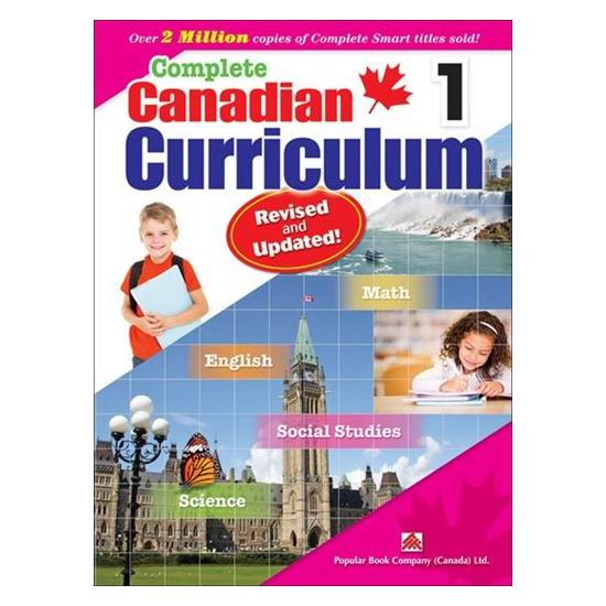 《Complete Canadian Curriculum》全系列各年级课外练习册6.5折起!