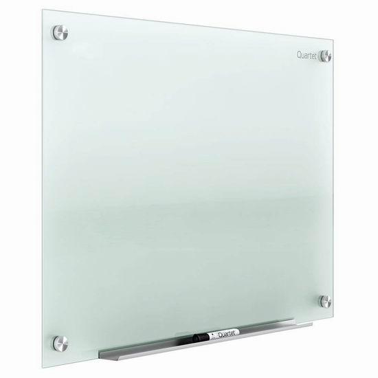 金盒头条:Quartet Infinity 4 X 6英尺 大型磨砂玻璃干擦板 365加元包邮!
